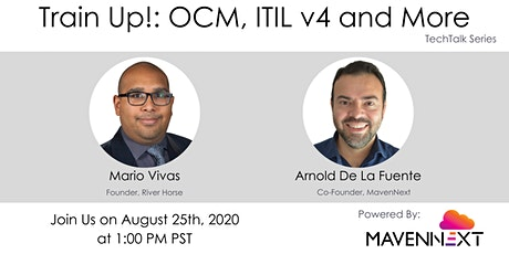 Train Up! : OCM, ITIL v4 and More tickets