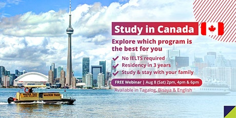 Study & Stay in Canada (No IELTS Required) tickets