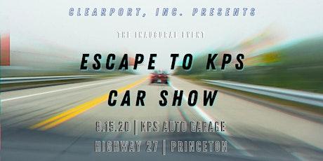 Escape to KPS Car Show tickets