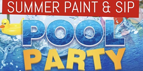 MD's Hottest Paint, & Sip Pool Party tickets