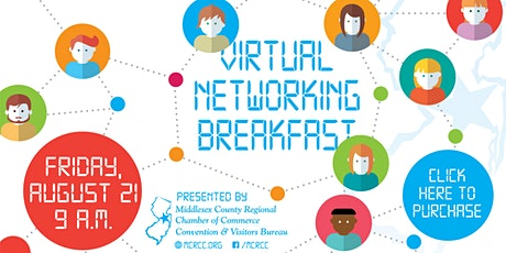 August 21st Virtual Networking Breakfast tickets