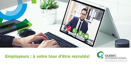 Employeurs : à votre tour d'être recrutés ! billets