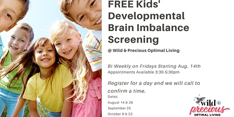 Kids' Developmental Brain Imbalance Screening tickets