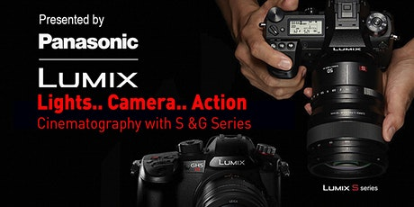 Lights, Cameras, Action.... Cinematography with Panasonic - Online tickets