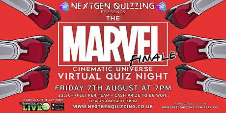 The Marvel Virtual Quiz Finale tickets