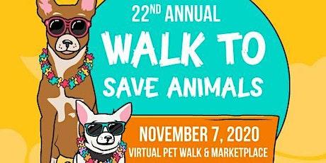 2020 Walk to Save Animals tickets