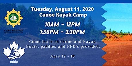 Canoe Kayak Camp tickets