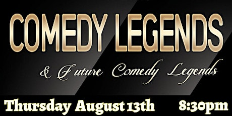 Comedy Legends ( Stand-Up Comedy ) Montreal Comedy Club tickets