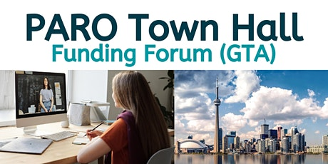 PARO Town Hall Funding Forum (GTA) tickets