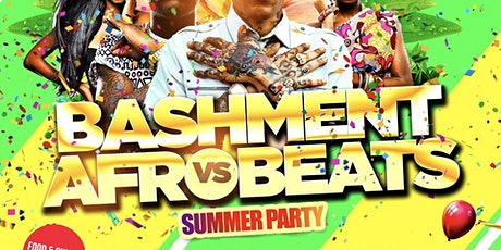 Bashment Vs Afrobeats - Summer Day Party tickets
