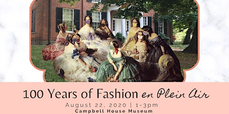 100 Years of Fashion en Plein Air tickets