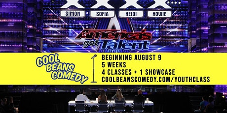 Cool Beans U: Youth Stand-Up Comedy Intensive plus Showcase! tickets