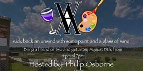 Sip & Paint at the Vineyard with Phillip Osborne tickets