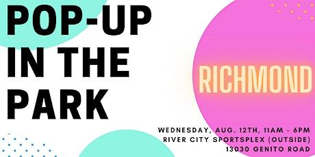 Richmond Pop-Up In The Park tickets