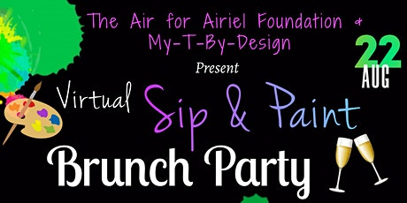 Air for Airiel Foundation   Virtual Sip & Paint Brunch Party tickets