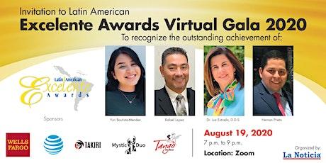 Latin American Excelente Awards 2020 - Raleigh tickets