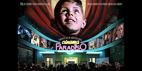 Cinema Paradiso (1988) The Kingsway Open Air Cinema (HEADPHONES) tickets