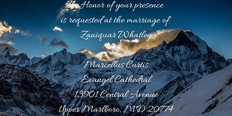 The Marriage of Zaniquar Whatley & Marcellus Curtis tickets