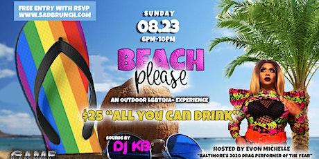 Beach Please! An Outdoor LGBTQIA+ Experience tickets