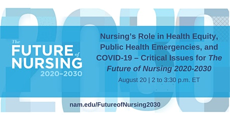Nursing's Role in Health Equity, Public Health Emergencies, and COVID-19 tickets