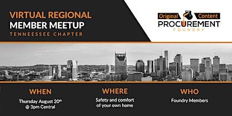 Virtual Member Meetup Tennessee tickets