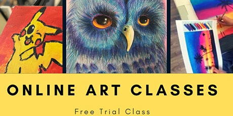 8/3-8/7 Happy Picasso Online Air Dry Clay Class tickets