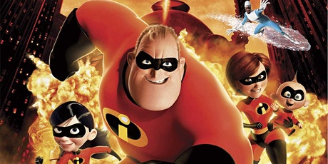 The Incredibles (2004) The Kingsway Open Air Cinema tickets