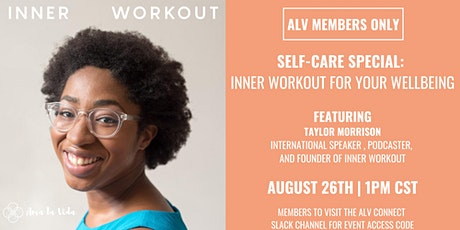 Self-care Special: Inner Workout for Your Wellbeing tickets