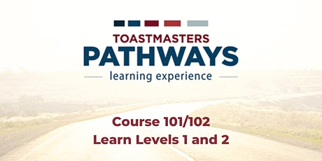 Pathways 101/102- Level 1 and Level 2 tickets
