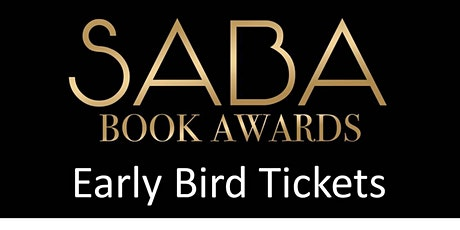 SABA 2020 Book Awards - EARLY BIRD Tickets tickets