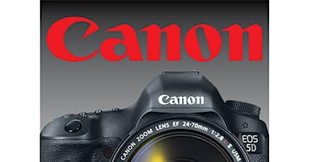 Getting Started with Canon DSLR & Mirrorless Cameras – Live Online tickets