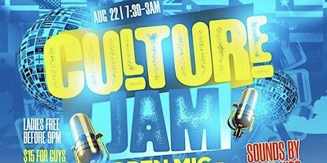 Culture jam tickets