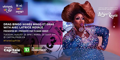 Drag Bingo with Latrice Royale (MEET & GREET TICKETS) tickets