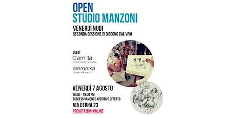 Open Studio Manzoni - VenerdìNudi biglietti