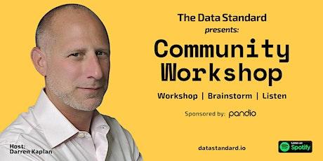 Data Standard Workshop Digital Event tickets