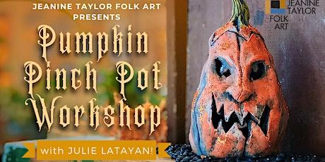 Pumpkin Pinch Pot Workshop tickets