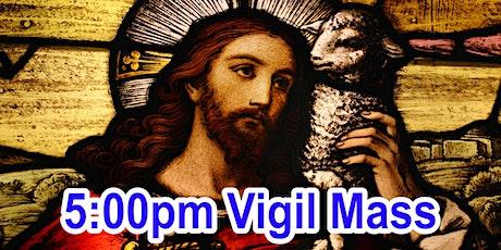 5:00pm Saturday Vigil Mass (OUTDOOR SCHOOL PARKING AREA) tickets