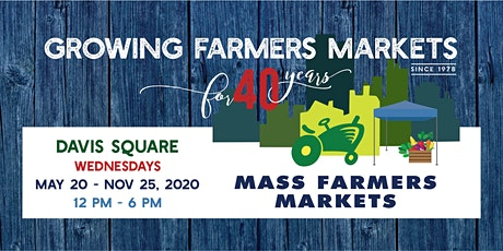 [August 12 , 2020] - Davis Sq Farmers Market Shopper Reservation tickets