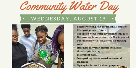 Community Water Day tickets