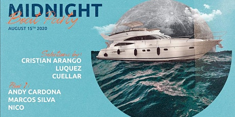 Midnight Boat Party | Cristian Arango | Luquez | Cuellar and more tickets