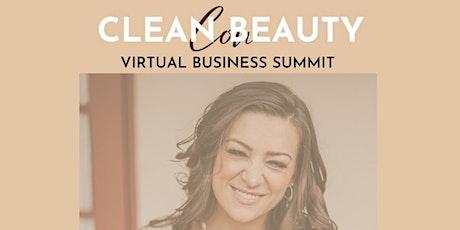Clean Beauty Con Virtual Summit tickets
