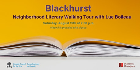 Literary Walking Tour with Louise Boileau tickets