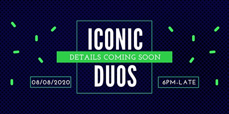 Iconic Duos/Band Night tickets