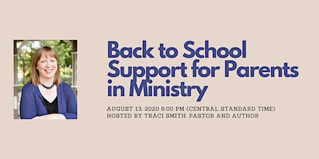 Parents in Ministry - Back to School in a time of COVID-19 tickets