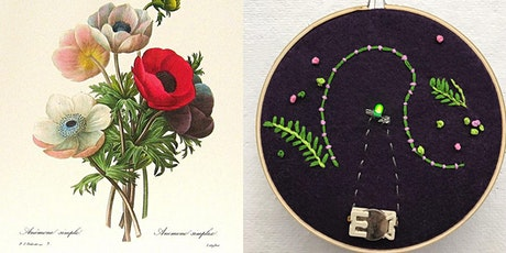 Create Your Own Botanical Embroidery tickets