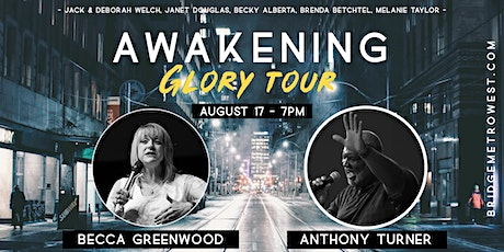 Awakening Glory Tour with Becca Greenwood & Friends tickets