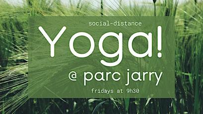 Yoga @ Parc Jarry tickets