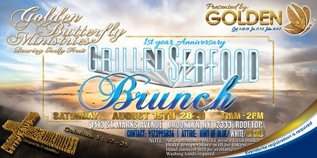 Priv. Grill Seafoods Brunch1st Year Anniversary Golden Butterfly Ministries tickets