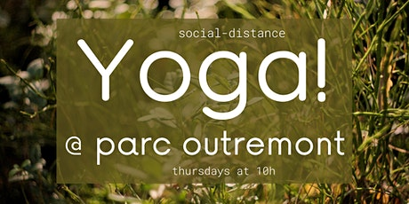 Yoga @ Parc Outremont tickets