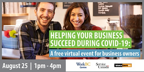 Helping Your Business Succeed During COVID-19: A Presentation & Panel Event tickets